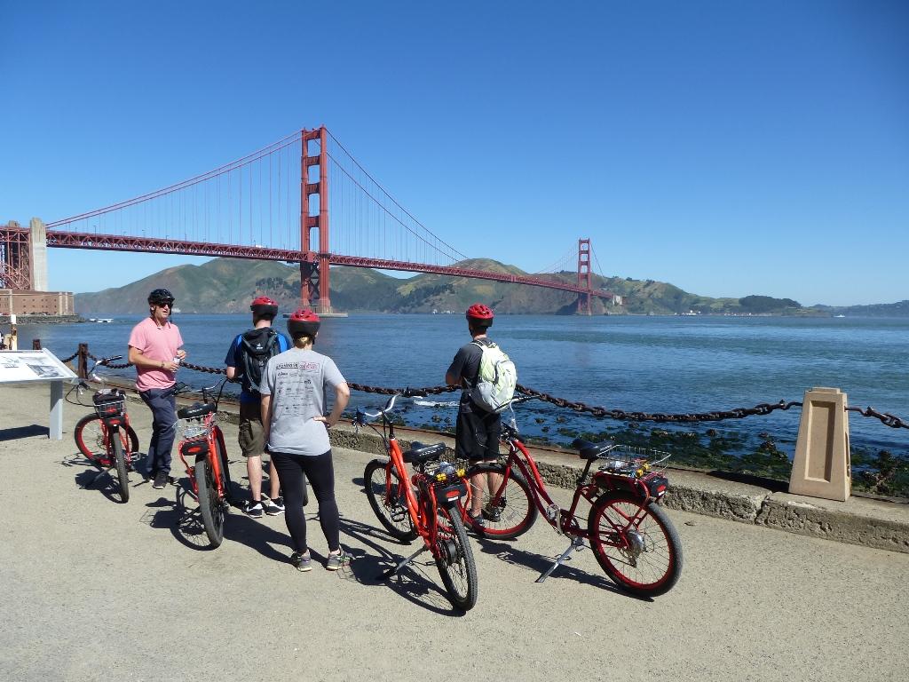 Ein besonderes Erlebnis: Mit dem Rad und in kleiner Gruppe San Francisco erkunden, © Lisa K. Schuermann