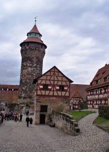 Die Kaiserburg in Nürnberg, © Lisa K. Schuermann