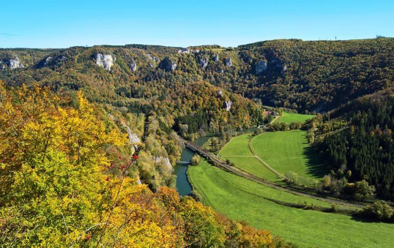 Ausblick auf das Donautal vom Eichfelsen aus, © Lisa K. Schuermann