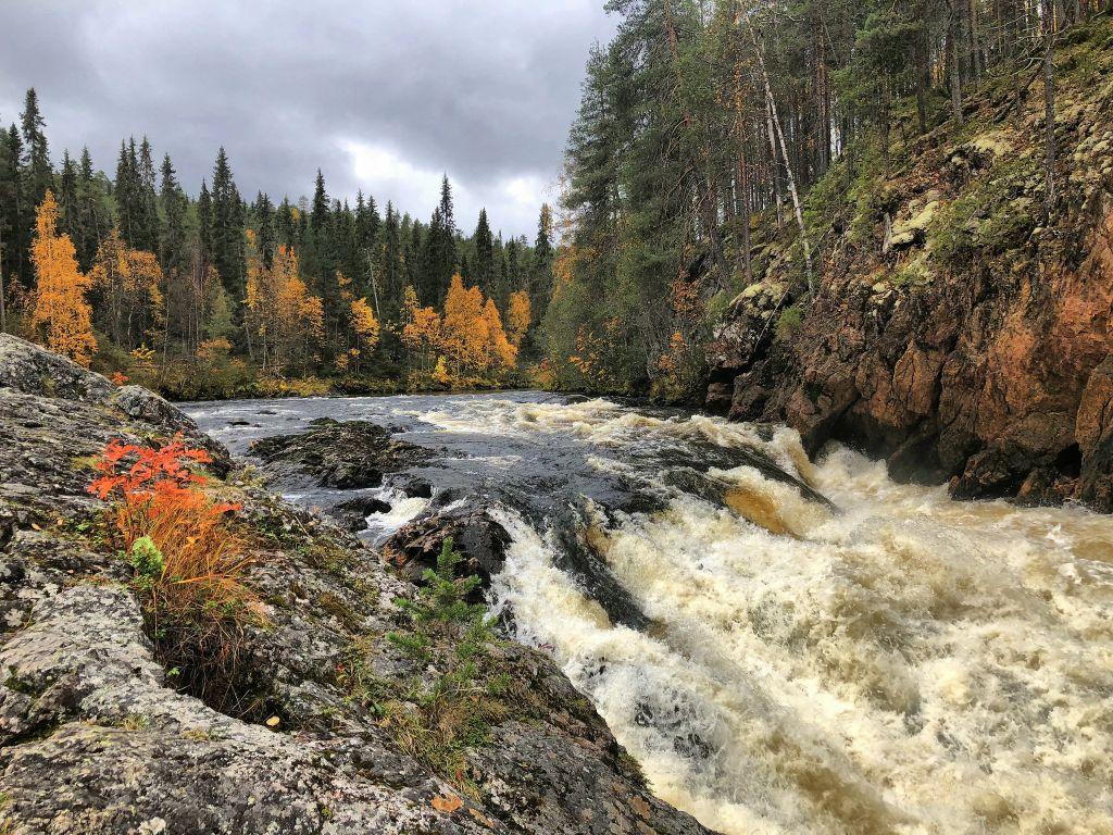 Der Oulanka-Nationalpark ist eines der beliebtesten Wander-Ziele in Finnland, © Timo Newton Syms, CC BY-SA 2.0