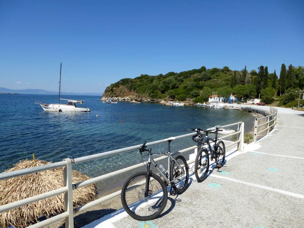 Mit dem Mountainbike auf Samos unterwegs, © Lisa K. Schuermann